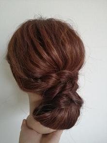 #romantyczne upięcie#fryzura