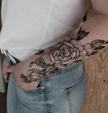 #róża #tattoo