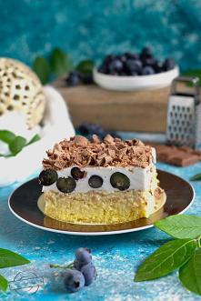 """Ciasto """"Borówkowe szal..."""