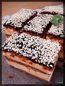 Ciasto z kremem chałwowym (...