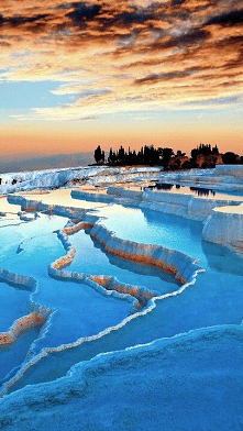 #Pamukkale#Turcja#baseny#te...