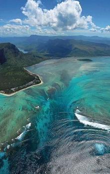 #Podwodny#wodospad#Mauritius