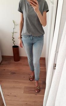 Benetton skinny jeans po sz...