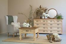 drewniane meble do salonu w...