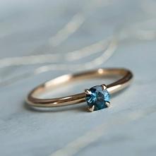 #pierścionek #szafir