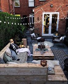 #ogrod #stół #jadalnia