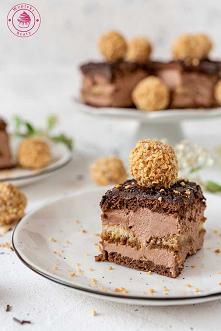 Czekoladowy sernik gotowany - Najlepsze przepisy | Blog kulinarny - Wypieki Beaty
