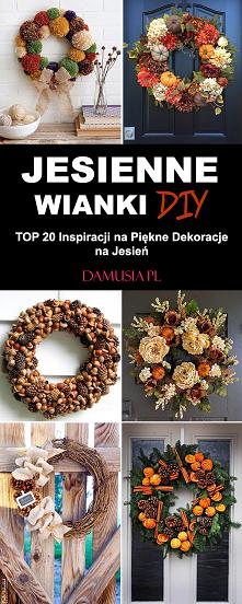 Jesienne Wianki DIY – TOP 2...