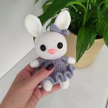 mała przytulanka IG: my.bunny_handmade  #mybunny #handmade #rekodzielo #zabawki #maskotki #krolik #prezentdladziecka #gift #babyshower