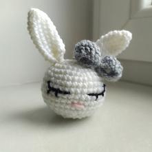 IG: my.bunny_handmade #breloczek #brelok #mybunny #recznierobione #dokluczy #ozdoba #malyprezent #krolik #kroliczek