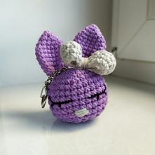IG: my.bunny_handmade #mybunny #handmade #krolik #kroliczek #bunny #fiolet #lilia #szary #gift