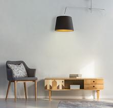 Modernistyczna lampa wisząc...