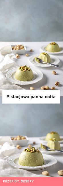 Przepis na pistacjową panna...
