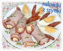 Ruloniki z pastą jajeczną