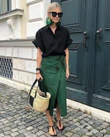 #zielona#spódnica