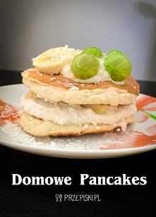 Puszyste Domowe Pancakes
