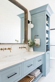 #łazienka #niebieskałazienka