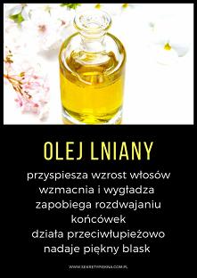 olej lniany właściwości