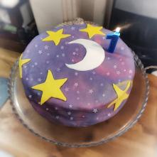 #pierwsze urodziny #tort #Luna