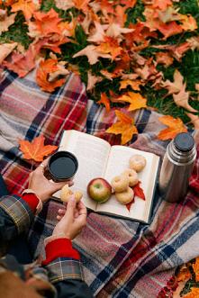 #jesień #herbata #książka