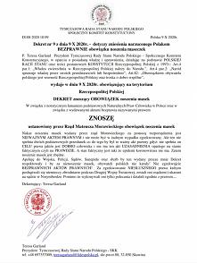 #pandemia #przepisy #polska