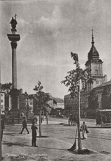Plac zamkowy w Warszawie - ...