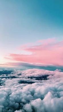 Lot samolotem #plane #clouds #niebo #chmury #pieknewidoki