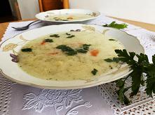Zupa z ogórków kiszonych, z...