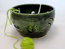 miska na włóczkę, yarn bowl...