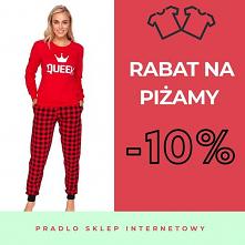 Promocja na piżamy w Pradlo...