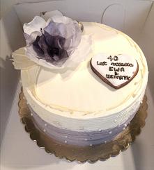 #tort #rocznica #kwiaty