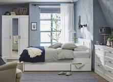 #sypialnia #blekit #niebieska #blue