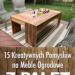 15 Kreatywnych Pomysłów na Meble Ogrodowe z Palet