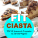 Domowe FIT Ciasta – TOP 10 Przepisów na Smaczne i Zdrowe Wypieki