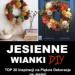 Jesienne Wianki DIY – TOP 20 Inspiracji na #Jesienne #Dekoracje