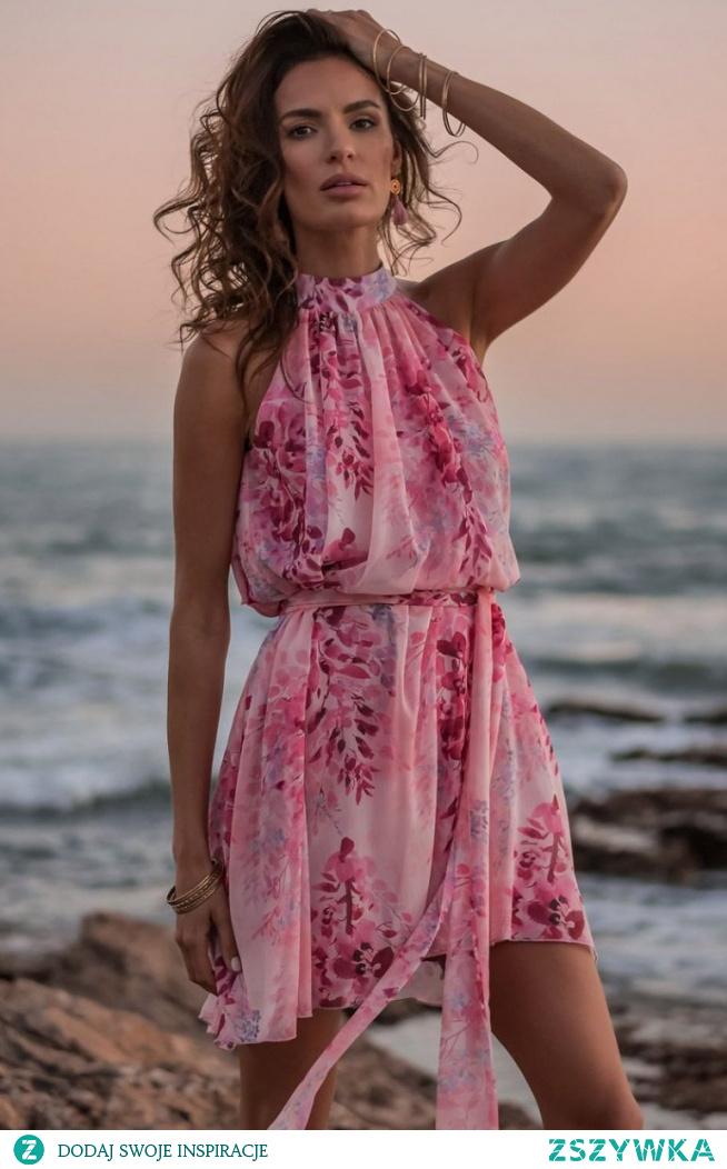 IVON Letnia szyfonowa sukienka Liv