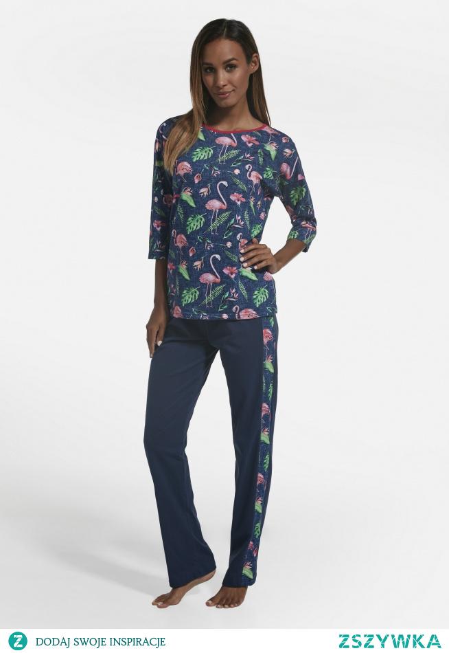 Piżama we Flamingi <3  Sprawdź promocyjną cenę w sklepie producenta Cornette. Nie czekaj, ilość produktów ograniczona :)