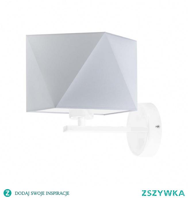 Lampa ścienna ORLANDO to rodzaj oświetlenia potrafiący wydobyć z wnętrza wszystko co najlepsze. Zapewniamy, że kinkiet nie tylko dostatecznie oświetli pomieszczenie ale także wpłynie na jego ogólny wystrój, w cudowny sposób go ozdabiając. Ta futurystyczna propozycja oświetlenia to integracja ciekawego abażuru z prostym metalowym stelażem. Lampa dzięki swej nieskomplikowanej formie, w idealny sposób wkomponuje się między salonowe wyposażenie wnętrza.  Kinkiet ORLANDO dostępny jest w kilkunastu wariantach kolorystycznych abażuru (biały, ecru, jasny szary, miętowy, musztardowy, jasny różowy, jasny fioletowy, beżowy, szary (stalowy), czerwony, niebieski, fioletowy, zielony butelkowy, granatowy, grafitowy, brązowy, czarny oraz szary melanż (tzw. beton)) oraz kilku kolorach stelaży (biały, czarny, stal szczotkowana, stare złoto).