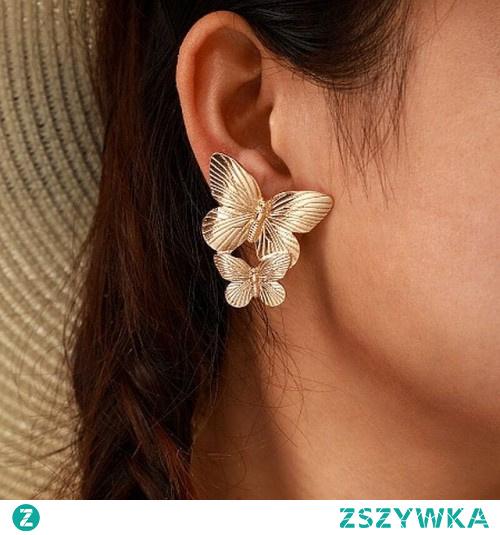Kolczyki duże motyle w cenie 10,80 zł. Kliknij w zdjęcie, aby przejść do sklepu Silvona.pl.