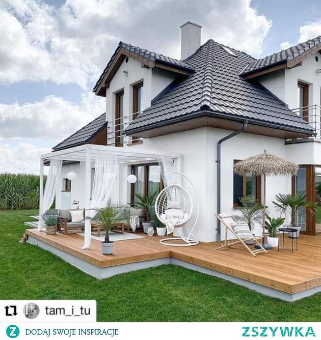 ... #dom #biały