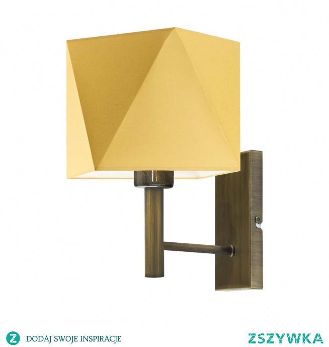 Lampa ścienna MEDAN na pewno spełni Twoje oczekiwania jeśli szukasz oryginalnego oświetlenia do pokoju dziennego, sypialni czy kuchni. Kinkiet charakteryzuje się modnym abażurem, który poza ciekawą formą, zachwyca możliwością doboru odpowiedniego odcienia dzięki dostępnej szerokiej gamie kolorystycznej. Prezentowany model lampy jest przedstawicielem stylu minimalistycznego, doskonale sprawdzając się jako dodatkowe oświetlenie w nowocześnie urządzonych pomieszczeniach. Kinkiet posiada miejsce na jedną żarówkę E27 o klasach energetycznych od A++ do E oraz żarówek LED.  Kinkiet MEDAN dostępny jest w kilkunastu wariantach kolorystycznych abażuru (biały, ecru, jasny szary, miętowy, musztardowy, jasny różowy, beżowy, szary (stalowy), czerwony, niebieski, zielony butelkowy, granatowy, grafitowy, brązowy, czarny oraz szary melanż (tzw. beton)) oraz kilku kolorach stelaży (biały, czarny, stal szczotkowana, stare złoto).