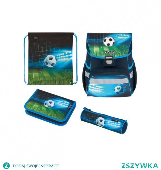 Tornister Herlitz LOOP PLUS - Soccer - zestaw