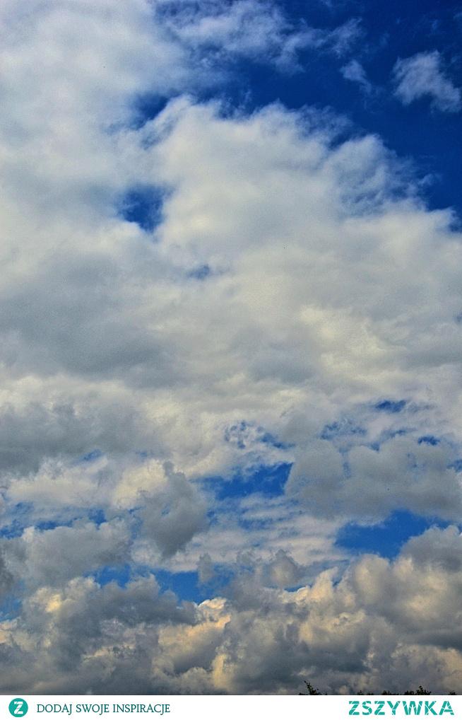 Niebo - zdjecie mojego autorstwa :)