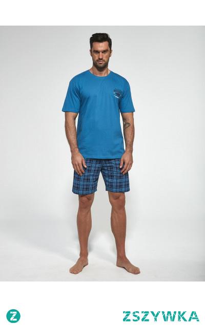 Idealna piżama na gorące noce dla mężczyzny od Cornette.  10% zniżki przy zapisie do newslettera. Sprawdź aktualne promocje w Oficjalnym Sklepie Producenta.