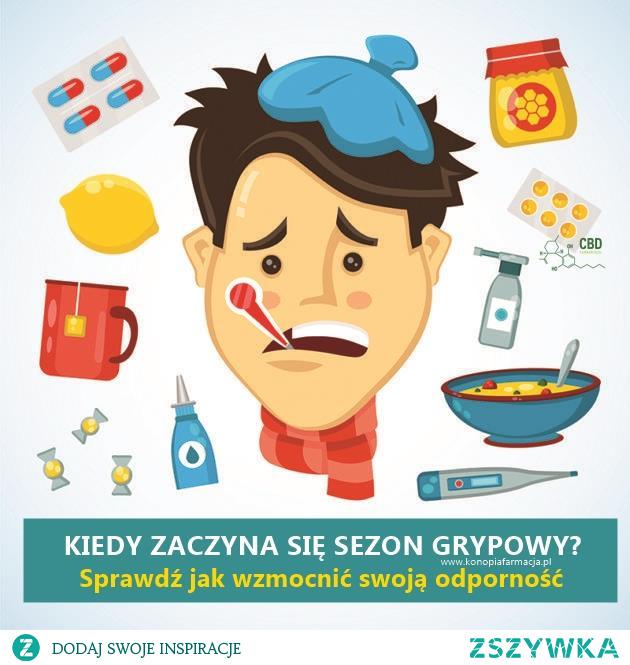 Kiedy zaczyna się sezon na grypę? Jak wzmocnić odporność? wwwkonopiafarmacjapl