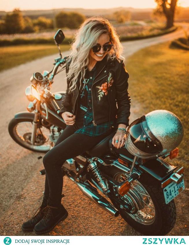 #girl#moto