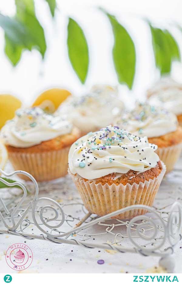 Babeczki cytrynowo-makowe - Najlepsze przepisy | Blog kulinarny - Wypieki Beaty