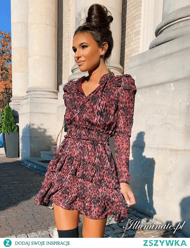 Sukienka do jesiennych stylizacji z kolekcji Illuminate.pl