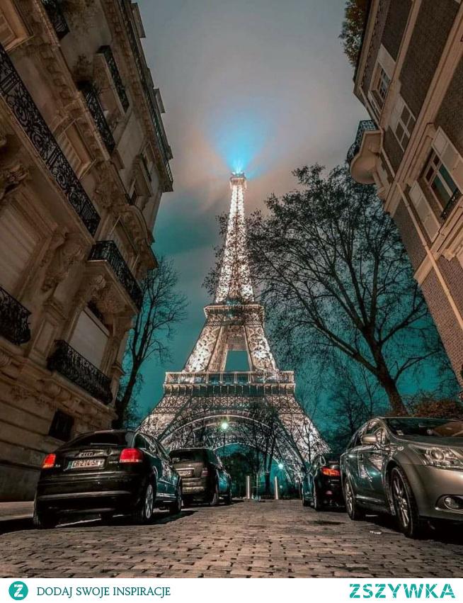 #Paryż#foto#bynight