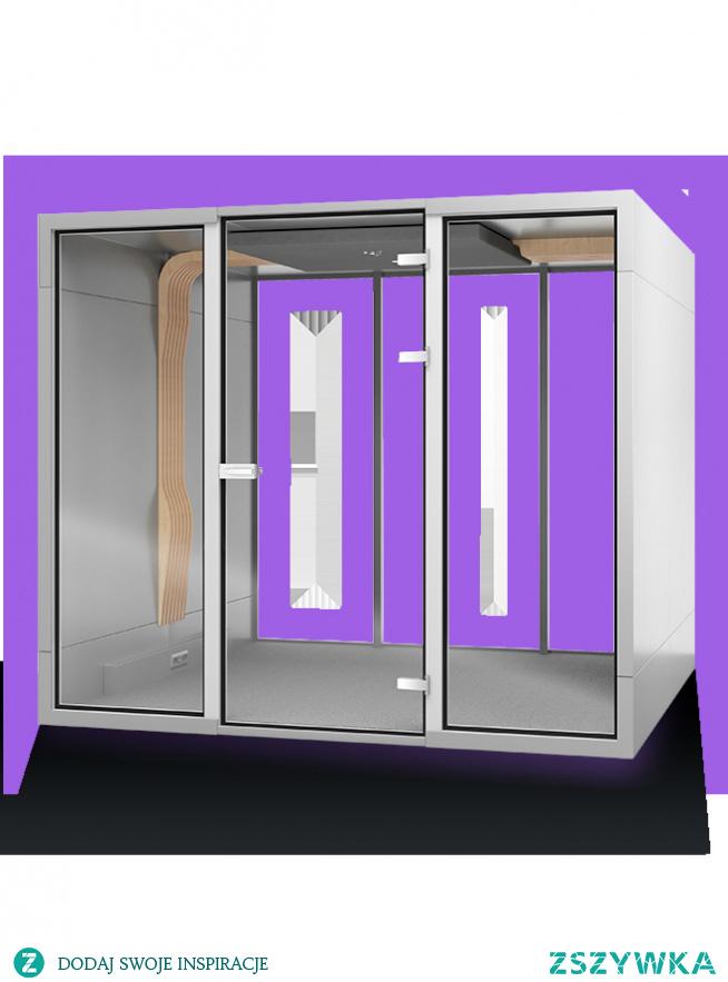 Budka telefoniczna 6-osobowa - idealne rozwiązanie do przestrzeni open space. Sprawdź jak to działa!